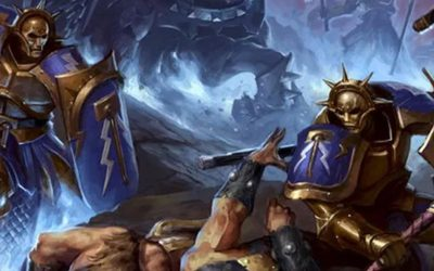 Podcast EP44: A quick look at Warhammer: Age of Sigmar from Games Workshop