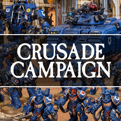 Podcast EP95: Warhammer 40K Crusade Campaign